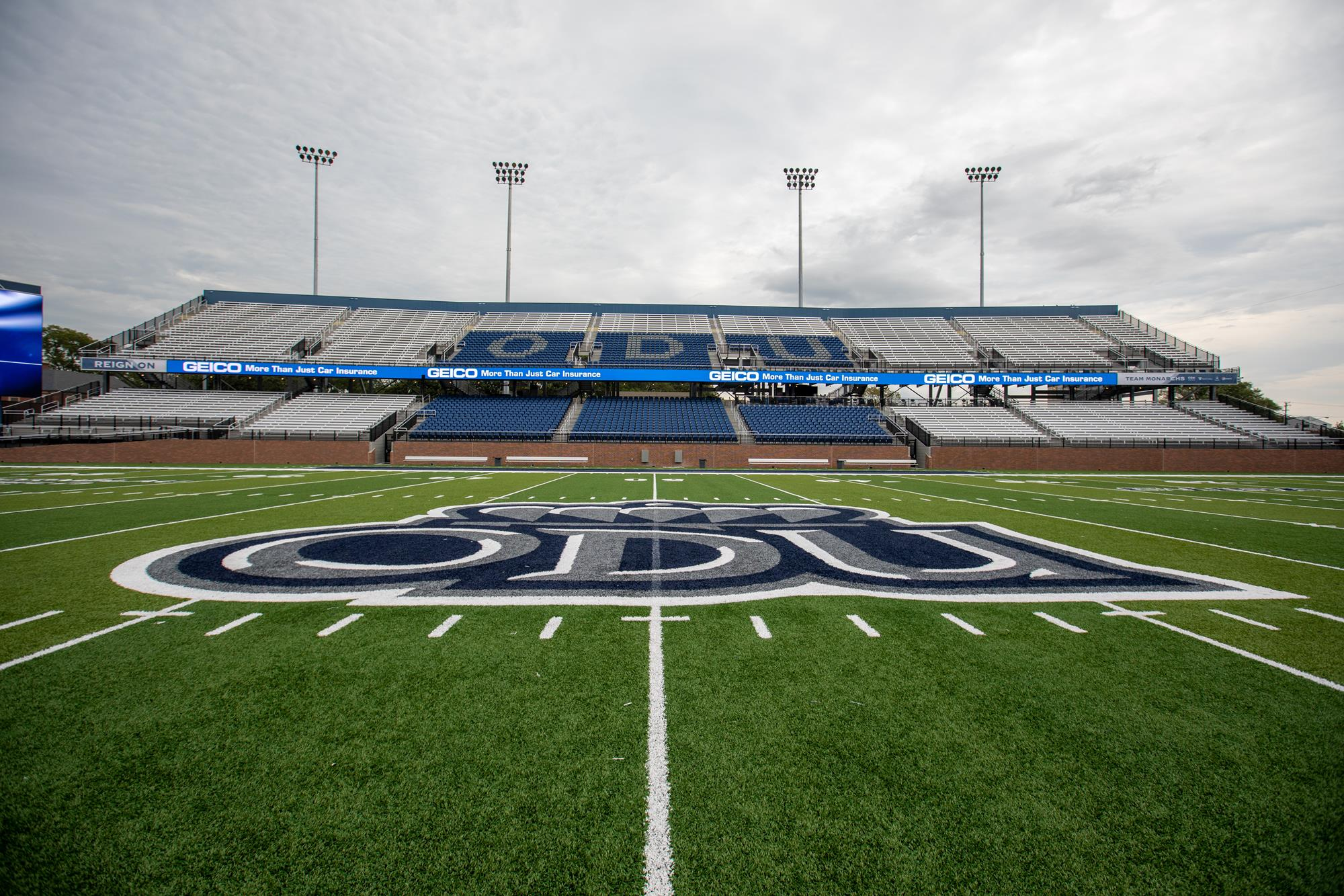 Kornblau Field At S B Ballard Stadium Facilities Old Dominion University