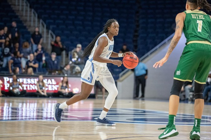 Edwards Records Career-High in 75-63 Victory at Florida Atlantic